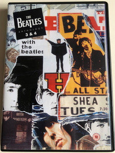 THE BEATLES ANTHOLOGY 3&4 DVD 2003 / DIRECTED BY GEOFF WONFOR / DOCUMENTARY TELEVISION SERIES / APPLE RECORDS / 2 EPISODES (0724349297791)