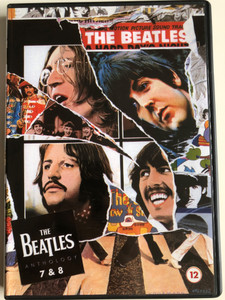 The Beatles Anthology 7 & 8 DVD 2003 / Episodes 7, 8 / Directed by Geoff Wonfor / Apple Records / 2 Episodes (0724349297699)