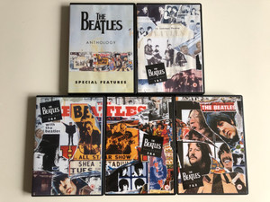 The Beatles Anthology DVD Set 2003 / 5 discs / 8 episodes documentary series / Directed by Geoff Wonfor / Apple Records / Bonus: Special Features DVD (9724349298095)