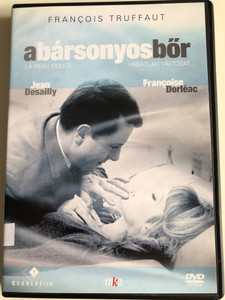 Le Peau Douce DVD 1964 A bársonyos bőr (The Soft Skin) / Directed by Francois Truffaut / Starring: Jean Deailly Francoise Dorleac, Nelly Benedetti (5999883749159)