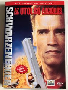 Last Action Hero DVD 1993 Az Utolsó Akcióhős / Directed by John McTiernan / Starring: Arnold Schwarzenegger, F. Murray Abraham, Art Carney, Charles Dance, Frank McRae (5999010443486)