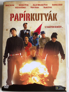Papírkutyák DVD 2008 Paper Dogs / Directed by Gyöngyössy Bence / Starring: Mucsi Zoltán, Scherer Péter, Szarvas József, Hajdú Steve, Pikali Gerda, Molnár Piroska (5999545587662)