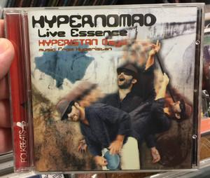 Hypernomad – Live Essence - Hyperistan Dayo / Music from Hyperistan / Folkbeats Audio CD 2011 / FB2TR079CD