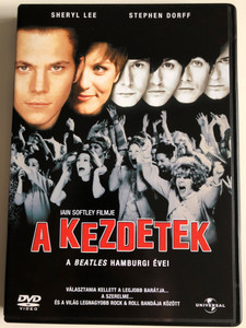 Backbeat DVD 1994 A Kezdetek - A beatles hamburgi évei / Directed by Iain Softley / Starring: Sheryl Lee, Stephen Dorff, Ian Hart (5050582249026)