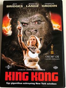 King Kong DVD 1976 Egy gigantikus szörnyeteg New York szívében / Directed by John Guillermin / Starring: Jeff Bridges Charles Grodin Jessica Lange (5996255719642)