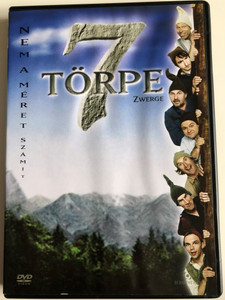 7 Zwerge DVD 2004 7 törpe / Directed by Sven Unterwaldt / Starring: Otto Waalkes, Heinz Hoenig, Mirco Nontschew, Boris Aljinovic / 7 Dwarves – Men Alone in the Wood (5999544241770)
