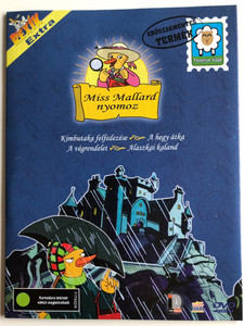 A Miss Mallard Mistery DVD 2000 Miss Mallard nyomoz / Created by Robert M. Quackenbush / Voices: Kate Hurman, Michael Rudder, Terrence Scammell, Gordon Masten / 4 episodes on disc (5999554650807)