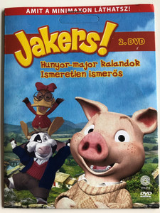 Jakers! The Adventures of Piggley Winks Disc 2 DVD 2003 Hunyor-major kalandok - ismeretlen ismerős / Created by Francis & Denise Fitzpatrick / Starring: Peadar Lamb, Maile Flanagan, Russi Taylor, Tara Strong, Charles Adler (5999557441297)