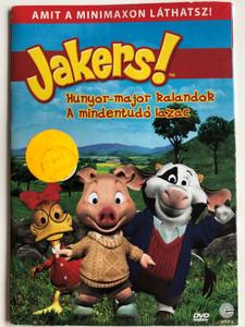 Jakers! The Adventures of Piggley Winks DVD 2003 Hunyor-major kalandok - A mindentudó lazac / Created by Francis & Denise Fitzpatrick / Starring: Melissa Disney, Pamela Adlon, Mel Brooks, Joan Rivers (5999557441280)