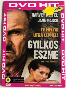 The Stone Merchant DVD 2006 Gyilkos Eszme / Directed by Renzo Martinelli / Starring: Harvey Keitel, Jane March (5996051022205)
