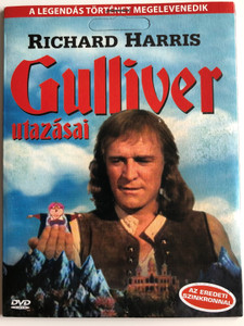 Gulliver's Travels DVD 1977 Gulliver utazásai / Directed by Peter R. Hunt / Starring: Richard Harris, Catherine Schell, Norman Shelley, Meredith Edwards (5999557441273)
