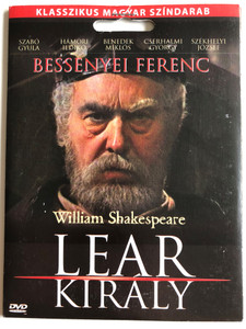 Lear Király DVD 1978 King Lear by W. Shakespeare / Directed by Vámos László / Starring: Bessenyei Ferenc, Gáti Oszkár, Benedek Miklós,Horesnyi László, Szabó Gyula / Hungarian Movie (5999557440870)