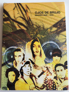 Ojos de Brujo - Girando Barí DVD 2005 / Features live performances from various concerts / Funk Flamenco, Vr-80, Memorias Perdias, Karakasekete / Documental ODB Girando Compás (8429085352170)