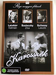 Karosszék DVD 1939 Armchair / Directed by Balogh Béla / Starring: Latabár Kálmán, Szeleczky Zita, Szilassy László / Régi magyar filmek 17. / Hungarian Classic B&W film (5999882685168)