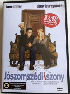 Duplex DVD 2003 Jószomszédi iszony / Directed by Danny DeVito / Starring: Ben Stiller, Drew Barrymore, Eileen Essell, Harvey Fierstein, Justin Theroux (5999551920286)