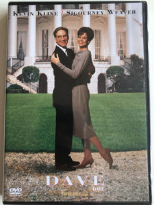 Dave DVD 1993 / Directed by Ivan Reitman / Starring: Kevin Kline, Sigourney Weaver, Frank Langella, Kevin Dunn (5996514002379)