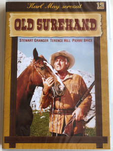 Old Surehand DVD 1965 / Directed by Alfred Vohrer / Starring: Stewart Granger, Pierre Brice, Letitia Roman / Karl May Sorozat (5996473001130)