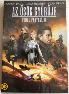 Kingsglaive: Final Fantasy XV DVD 2016 Az ősök gyűrűje - FF XV / Directed by Takeshi Nozue / Starring: Gō Ayano, Shiori Kutsuna, Tsutomu Isobe, Aaron Paul (8590548613807)