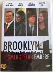 The Angriest man in Brooklyn DVD 2014 Brooklyn legmérgesebb Embere / Directed by Phil Alden Robinson / Starring: Robin Williams, Mila Kunis, Peter Dinklage, James Earl Jones (5999542818714)