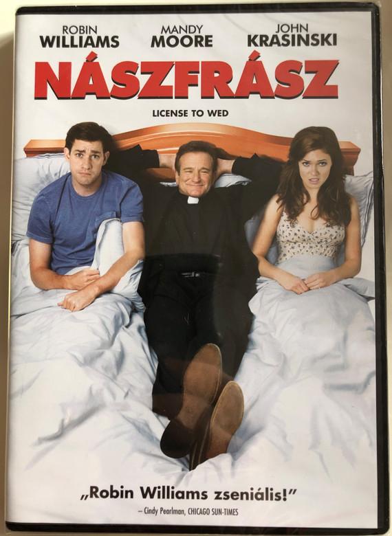 License to Wed DVD 2007 Nászfrász / Directed by Ken Kwapis / Starring: Robin Williams, Mandy Moore, John Krasinski, Christine Taylor (5996514001990)