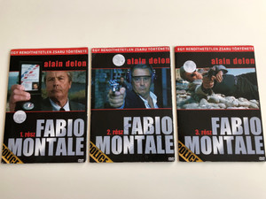 Fabio Montale Parts 1-3 DVD SET 2002 Fabio Montale 1-3. rész / Directed by Jose Pinheiro / Starring: Alain Delon, Cédric Chevalme, Elena Sophia Ricci / Egy rendíthetetlen zsaru története (FabioMontaleDVDSET)