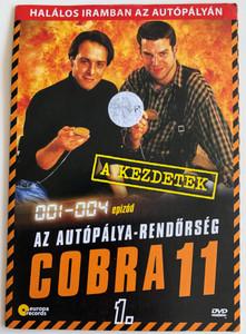 Alarm für Cobra 11 DISK 1 - Die Autobahnpolizei DVD 1996 Cobra 11 / Directed by / Starring: Johannes Brandrup, Rainer Strecker, Almut Eggert, Erdoğan Atalay, Mark Keller, René Steinke / The Highway Police Episodes 1-4 (5999557441952)