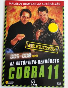 Alarm für Cobra 11 DISK 2 - Die Autobahnpolizei DVD 1996 Cobra 11 / Directed by / Starring: Johannes Brandrup, Rainer Strecker, Almut Eggert, Erdoğan Atalay, Mark Keller, René Steinke / The Highway Police Episodes 5-8 (5999557441969)