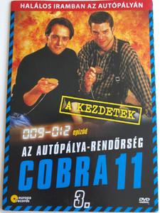 Alarm für Cobra 11 DISK 3 - Die Autobahnpolizei DVD 1996 Cobra 11 / Directed by / Starring: Johannes Brandrup, Rainer Strecker, Almut Eggert, Erdoğan Atalay, Mark Keller, René Steinke / The Highway Police Episodes 9-12 (5999557441976)