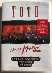Toto - Live at Montreux DVD 1991 / Includes Rosanna, Africa, I'll be over you and more / Montreux Jazz Festival / Eagle Vision (5034504125377)