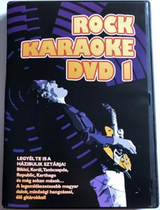 Rock Karaoke 1. DVD 2010 / Legyél te is a Házibulik sztárja! / Korál, Tankcsapda, Republic / Hungarian Rock band karaoke / BHB DVD 05 (5999552650120)