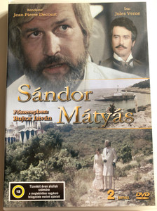 Sándor Mátyás 2 DVD 1979 / Directed by Jan Pierre Decourt / Written by Jules Verne / Starring: Bujtor István, Claude Giraud, Giuseppe Pambieri / 2 lemezes kiadás (5996357390619)