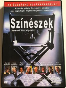 Les Acteurs DVD 2000 Színészek (Actors) / Directed by Bertrand Blier / Starring: Pierre Arditi, Josiane Balasko, Jean-Paul Belmondo, François Berléand, Dominique Blanc (5999546330397)
