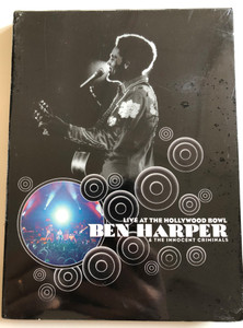 Ben Harper & The Innocent Criminals DVD 2003 Live at the Hollywood Bowl / Directed by The Malloys / Bonus CD Audio - Live EP / Glory and Consequence, Brown Eyed Blues, Steal my kisses, Walk Away (724359912806)