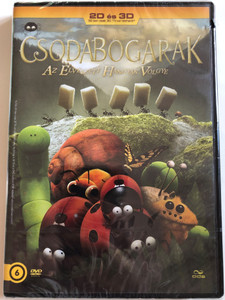 Minuscule - La vallée des fourmis perdues DVD 2014 Csodabogarak - Az elveszett hangyák völgye / Directed by Hélène Giraud, Thomas Szabo / Valley of the Lost Ants (5996471000753)