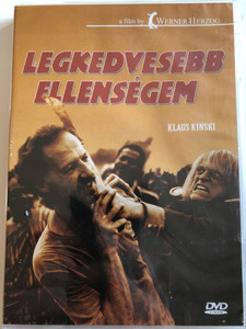 Mein liebster Feind - Klaus Kinski DVD 1999 Legkedvesebb ellenségem (My Best Fiend) / Directed by Werner Herzog / Starring: Werner Herzog, Klaus Kinski, Eva Mattes, Claudia Cardinale (5999881767377)