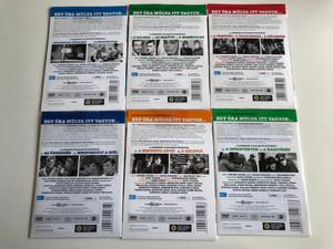 Egy óra múlva itt vagyok... DVD SET 6 DVD 1971-1974 / Directed by Wiedermann Károly / Starring: Harsányi Gábor, Kállai Ferenc, Benkő Gyula, Ajtay Andor / 14 Episodes / Classic Hungarian TV Series / 14 epizód (EgyÓraMúlvaDVDSET)