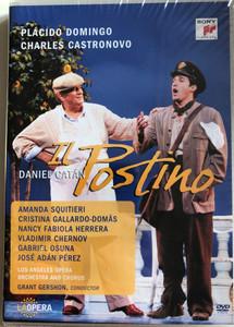 Il Postino DVD 2010 The Postman / Directed by Brian Lage, Ron Daniels / Opera in three Acts / Placido Domingo, Charles Castronovo / La Opera - Theater an der Wien / Libretto by Daniel Catán (88691919709
