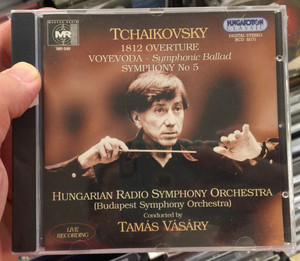 Tchaikovsky - 1812 Ouverture, Voyevoda - Symphonic Ballad, Symphony No. 5 / Hungarian Radio Symphony Orchestra (Budapest Symphony Orchestra) / Conducted by Tamas Vasary / Hungaroton Classic Audio CD 2002 Stereo / HCD 32171