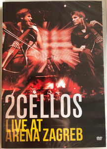 2Cellos Live At Arena Zagreb DVD 2013 / Directed by Kristijan Burlovic / Recorded Live June 12 2012 Arena Zagreb, Croatia / Stjepan Hauser, Luka Sulic cellos / Condutcted by Ivo Lipanovic