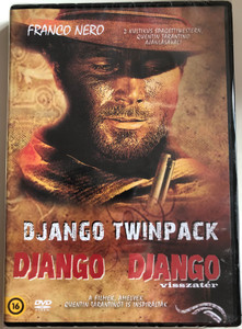 Django Twinpack DVD 1987 Django, Django 2 - Il Grande Ritorno (Django Strikes Again) / Directed by Ted Archer / Starring: Franco Nero, Christopher Connelly, Licia Lee Lyon, William Berger, Donald Pleasence (5999549905172)
