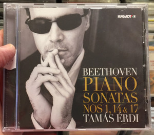 Beethoven - Piano Sonatas Nos 1, 14 & 17 / Tamas Erdi / Hungaroton Classic Audio CD 2019 / 5991813282828