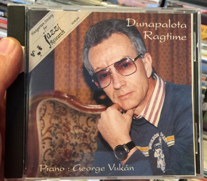Dunapalota Ragtime / Piano: Geörge Vukán / Hungarian Society For Jazz Research Audio CD 1993 / HSJR 2001