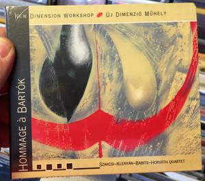 New Dimension Workshop (Uj Dimenzio Muhely) - Hommage à Bartók / Szakcsi, Klenyan, Babits, Horvath quartet / Logos Publishing House Audio CD 2004 / L CD 05