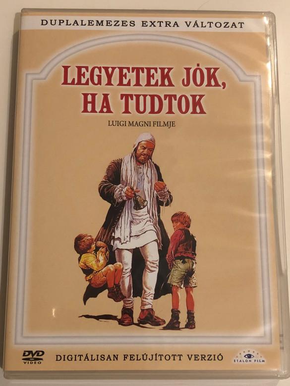 State buoni, se potete (Legyetek jók ha tudtok) 2 DVD 1983 Hungarian Collector's edition/ Directed by Luigi Magni / Starring: Johnny Dorelli, Mario Adorf, Philippe Leroy, Renzo Montagnani / Duplalemezes extra változat (5999883203941)