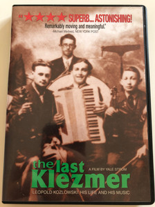 The last klezmer DVD 1994 Leopold Kozlowski - His life and his music / Directed by Yale Strom / Documentary about klezmer musician (717119338848)