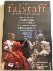 Verdi - falstaff DVD 1982 The Royal opera Covent Garden / Directed by Brian Large / Conducted by Carlo Maria Giulini / Libretto Arrigo Boito / NVC Arts (5051442049428)