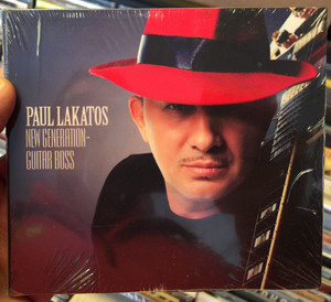 Paul Lakatos - New Generation - Guitar Boss / Tom-Tom Studio Audio CD / 5999524962213
