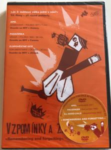 Vzpomínky a zapomínání DVD 2003 Remembering and forgetting / Three films - Tri filmy / Apel - animated film, Pasažérka - feature film, Zlopoveštné Díté - documentary (9788070041291)