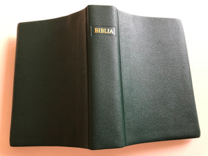 Biblia - Sfinta Scriptura / Small size Romanian Bible / Green Vinyl Bound / Romanian Bible Society / 889-12-042 (RomanianBibleGreenVinyl)