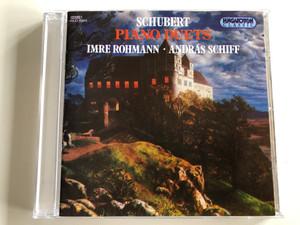 Schubert - Piano Duets / Imre Rohmann, András Schiff / Hungaroton Classic Audio CD 1995 Stereo / HCD 11941